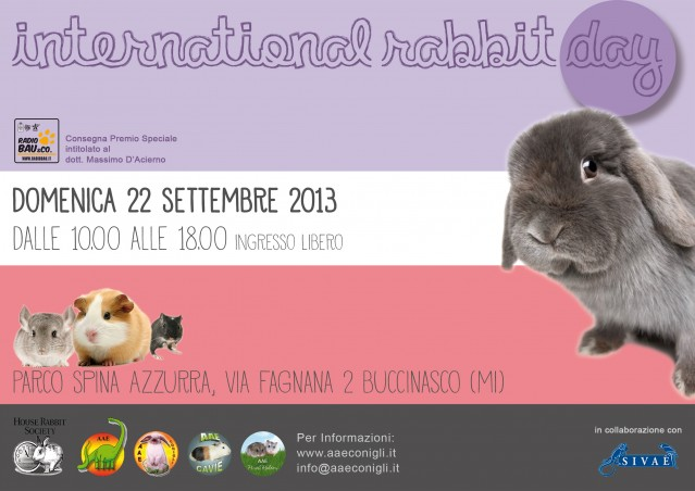 INTERNATIONAL RABBIT DAY 2013