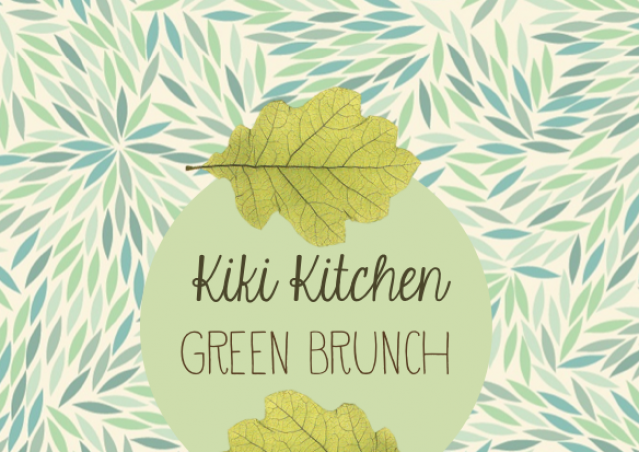 Kiki Pelosi GREEN BRUNCH a Rocca Priora!