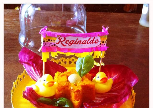 REGINALDO, UN PAPERO CHE SA FARE FESTA!