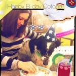 card post compleanno cotone