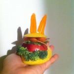 bunny burger con orecchie