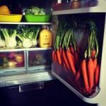 il mio frigo prima dell'evento
