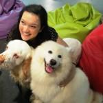 Kiki con Enya e Blu